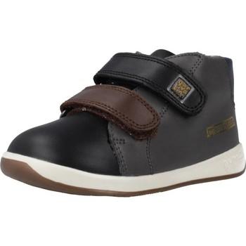 Schuhe Jungen Sneaker High Garvalin 191313 Schwarz