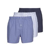 Unterwäsche Herren Boxer Lacoste 7H3394-8X0 Weiss / Blau