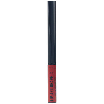 Beauty Damen Lippenstift Rimmel London Lip Art Graphic Liner&liquid Lipstick 550-cuff Me 5 ml