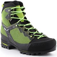 Schuhe Herren Wanderschuhe Salewa Ms Raven 3 GTX 361343-0456 grün