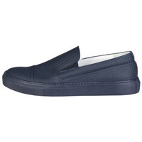 Schuhe Herren Slipper Made In Italia - lamberto Blau
