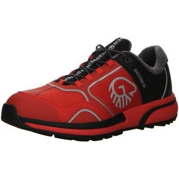 Schuhe Herren Sneaker Low Giesswein Sportschuhe Wool Cross 49305-343 rot