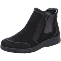 Schuhe Damen Boots Ara Stiefeletten MERAN 12-41026-61 schwarz