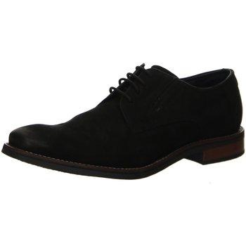 Schuhe Herren Derby-Schuhe Bugatti Schnuerschuhe Malco schwarz