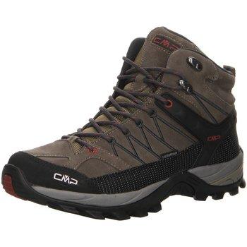 Schuhe Herren Fitness / Training Cmp F.lli Campagnolo Sportschuhe RIGEL MID TREKKING SHOES WP 3Q12947 grau