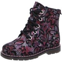 Schuhe Mädchen Boots Richter Schnuerstiefel -Schnür-Bootie 0851-642-7610 schwarz
