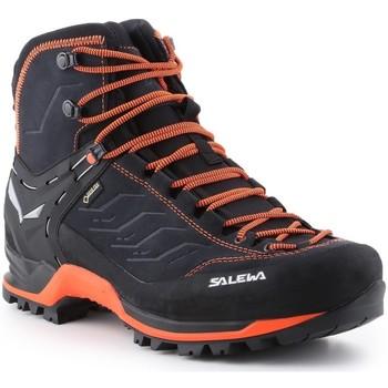 Schuhe Herren Wanderschuhe Salewa Ms Mtn Trainer Mid Gtx 63458-0985 schwarz, orange