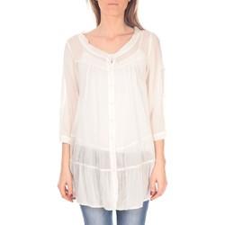 Kleidung Damen Tuniken Vision De Reve Tunique women 7055 Ecrue Beige