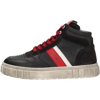 Schuhe Jungen Sneaker High Nero Giardini A933650M BLUE