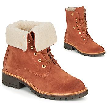 Schuhe Damen Boots André BALADE Orange