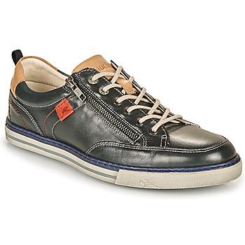 Schuhe Herren Sneaker Low Fluchos QUEBEC Marine / Beige / Rot