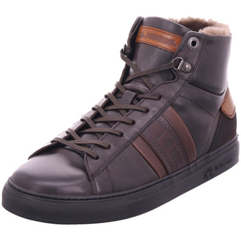 Schuhe Herren Sneaker High La Martina - 192009 122M braun