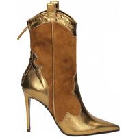 Schuhe Damen Low Boots Aldo Castagna BOHEMIA oro-tabacco