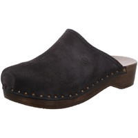 Schuhe Damen Pantoletten / Clogs Berkemann Pantoletten 00404-396 blau