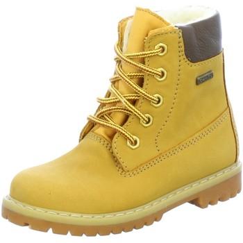 Schuhe Mädchen Boots Däumling Schnuerstiefel 080031 Kd.Vot. 080031-66 gelb