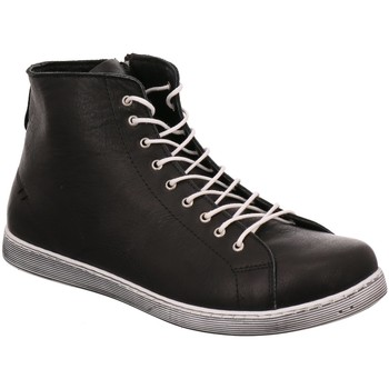 Schuhe Damen Sneaker High Andrea Conti Stiefeletten 0341500073 schwarz