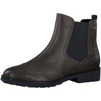 Schuhe Damen Ankle Boots Marco Tozzi Stiefeletten 1335 2-2-25410-33 389 braun