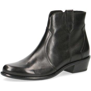 Schuhe Damen Ankle Boots Caprice Stiefeletten Kelli Stiefelette 25348-022 schwarz