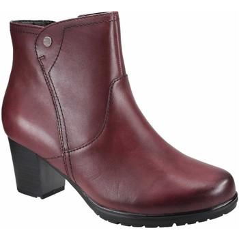 Schuhe Damen Ankle Boots Jana Stiefeletten bordeaux 8-25317-23-549 Other