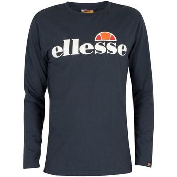 Kleidung Herren Langarmshirts Ellesse Herren SL Grazie Langarm T-Shirt, Blau blau