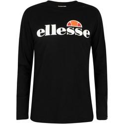 Kleidung Herren Langarmshirts Ellesse Herren SL Grazie Langarm T-Shirt, Schwarz schwarz