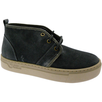 Schuhe Damen Sneaker High Natural World NAW6151901ne nero