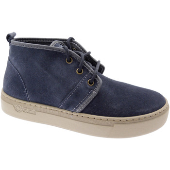 Schuhe Damen Sneaker High Natural World NAW6151977ma blu