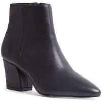 Schuhe Damen Ankle Boots Steve Madden SMSMISSIE-BLKL Stiefeletten Frau schwarz schwarz