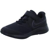 Schuhe Jungen Sneaker Low Nike Low AT1801 003 AT1801 003 schwarz