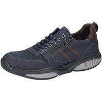 Schuhe Herren Sneaker Low Xsensible Schnuerschuhe 300732193 blau