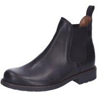 Schuhe Damen Ankle Boots Sabalin Stiefeletten 54-2044,black 54-2044-0 schwarz