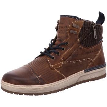 Schuhe Herren Boots Bugatti 321334393269636 braun