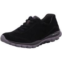Schuhe Damen Sneaker Low Rollingsoft By Gabor Schnuerschuhe 06.965.47 schwarz