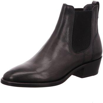 Schuhe Damen Boots Brecos Stiefeletten 9227 grigio grau