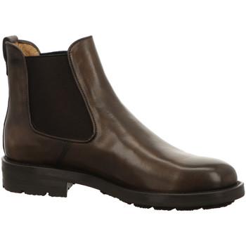 Schuhe Damen Boots Brecos Stiefeletten 9006 taupe braun