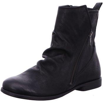 Schuhe Damen Boots Think Stiefeletten 5-85222-00 schwarz