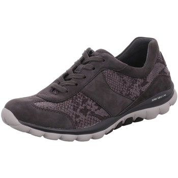 Schuhe Damen Sneaker Low Rollingsoft By Gabor Schnuerschuhe 36.960.11 grau