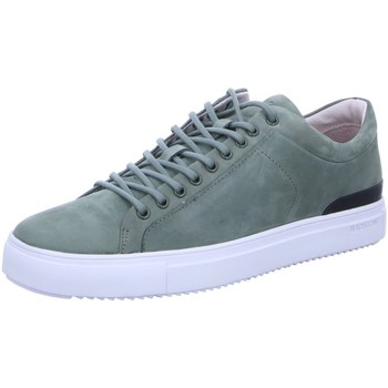 Schuhe Herren Sneaker Low Blackstone H Halb PM56 Battle grün
