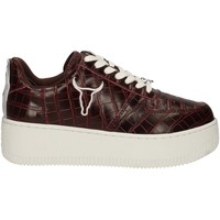 Schuhe Damen Sneaker Low Windsor Smith RACERR BORDEAUX