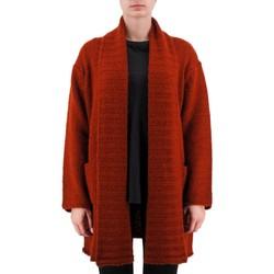 Kleidung Damen Strickjacken Anonyme Demeter Schwerer Wollpullover braun  ANYP259FK1 Marron