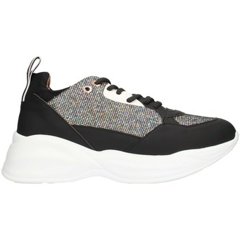 Schuhe Damen Sneaker Low Alexander Smith SP73896 Multi Silber