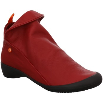 Schuhe Damen Ankle Boots Softinos Stiefeletten P900085558 rot