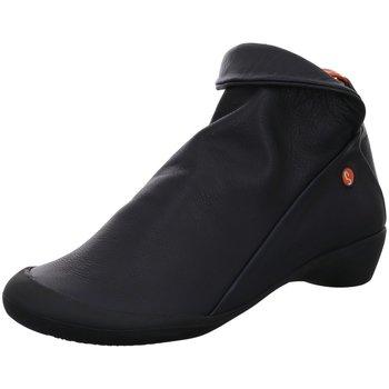 Schuhe Damen Sneaker High Softinos Stiefeletten P900085557 schwarz