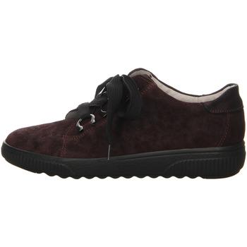 Schuhe Damen Sneaker Low Waldläufer Schnuerschuhe BRIZU BRONX 910008-201/053 rot