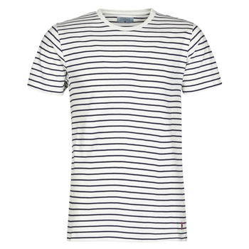 Kleidung Herren T-Shirts Casual Attitude KINO Marine / Weiss
