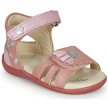 Schuhe Mädchen Sandalen / Sandaletten Kickers BICHETTA Rose