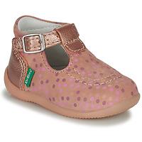 Schuhe Mädchen Sandalen / Sandaletten Kickers BONBEK-3 Rose / Pois