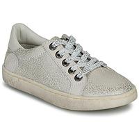 Schuhe Mädchen Sneaker Low Kickers LYKOOL Grau / Silbern / Leopard