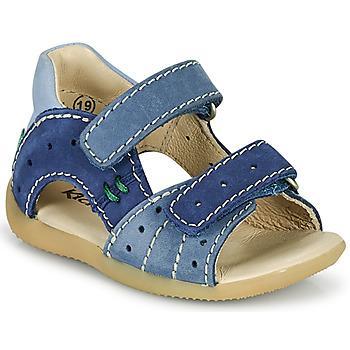Schuhe Jungen Sandalen / Sandaletten Kickers BOPING-3 Blau