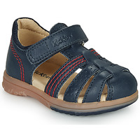 Schuhe Jungen Sandalen / Sandaletten Kickers PLATIBACK Marine